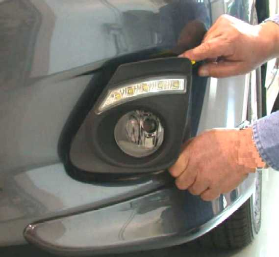 2011-13 Corolla w/LED DRL