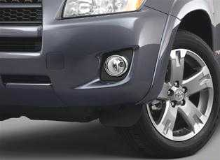 TRA-201 2009 RAV4 Fog Light Kit
