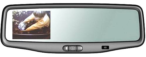 OEM Mirror w/ LCD Dsiplay