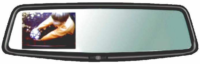 Slimline OEM Mirror w/ 16:9 LCD Dsiplay