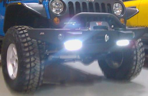 DRL8 in Jeep Wrangler