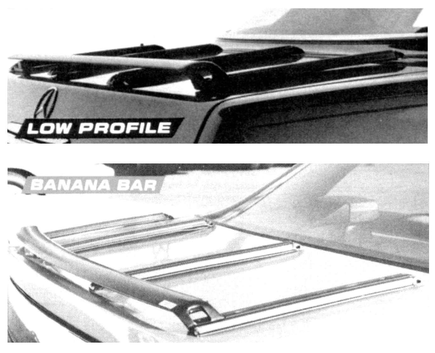 Amco Lowe Profile Deck Rack