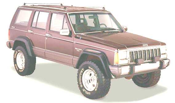 Jeep Cherokee Classic (ribbed roof)